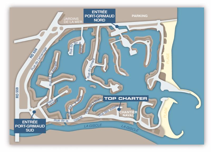 Top Charter Port Grimaud Rental Boat
