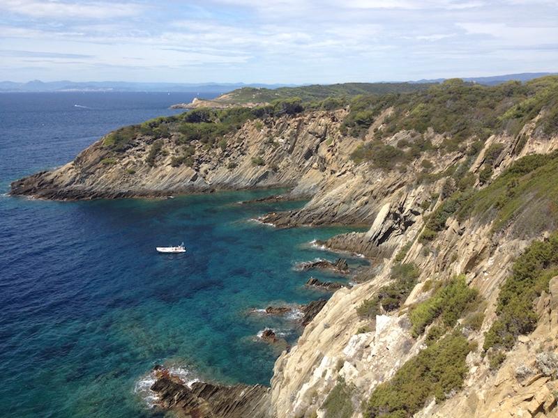 Port Cros parc national marin et terrestre - location bateau Top Charter